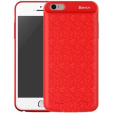 Чехол Baseus Plaid Backpack Power Bank 2500mAh Red iPhone 7