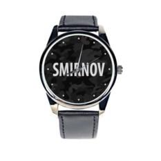 Именные наручные часы Black Мilitary