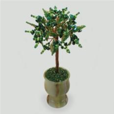 Дерево из малахита Малахитовая симфония