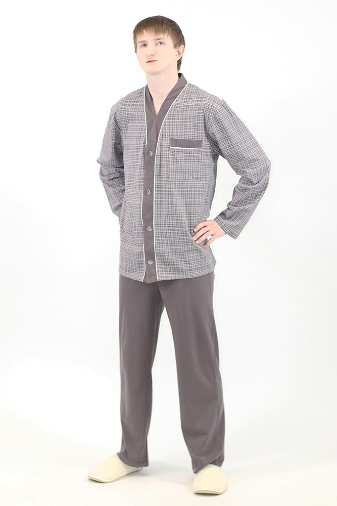 Мужская пижама Пуговицы