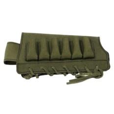 Оригинальный открытый патронташ на приклад на 6 патронов
