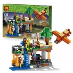 Конструктор Lele Minecraft Воздушная гавань