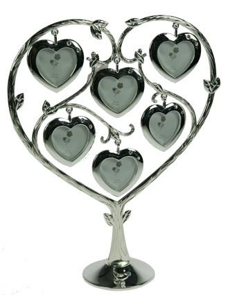 Фоторамка-дерево Сердце на 6 фото