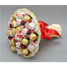 Букет из конфет Ягодка