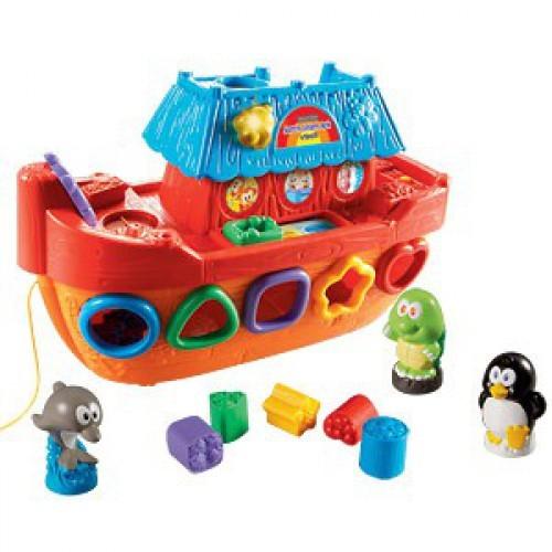 Развивающая игрушка Обучающий корабль