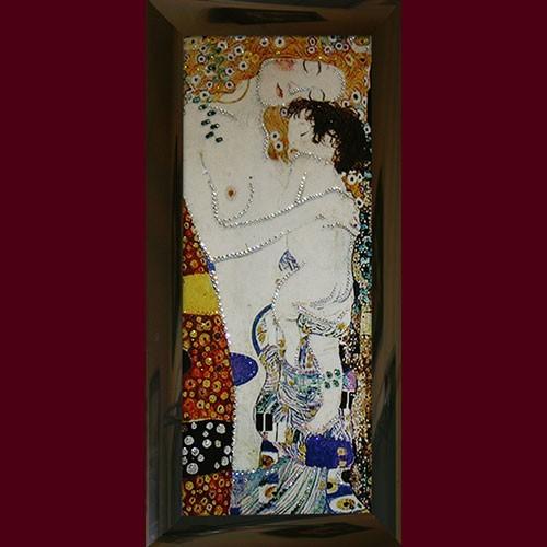 Картина со стразами Материнская любовь