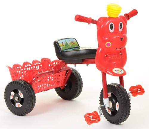 Велосипед Leader Kids 7020, цвет: красный