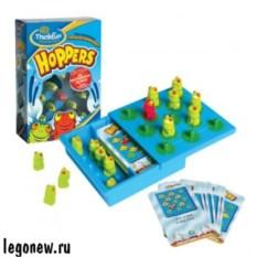 Игра-головоломка Hoppers Лягушки-непоседы от ThinkFun