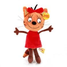 Мягкая игрушка со звуком 3 кота. Карамелька (13 см)
