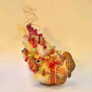 Букет из конфет «Лебедушка»