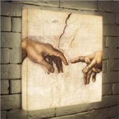 Дизайнерский ночник по мотивам Микеланджело