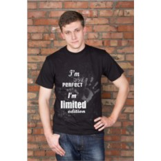 Мужская футболка с вашим текстом Limited