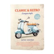 Тетрадь Retro & classic scooter
