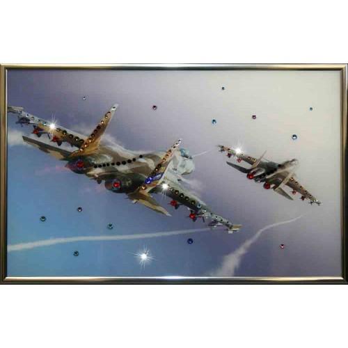 Картина с кристаллами Swarovski Полет