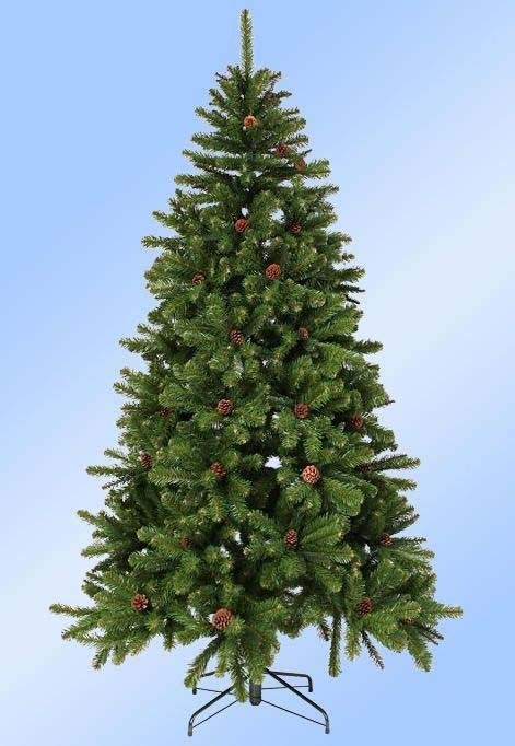 Искусственная елка Императрица с шишками