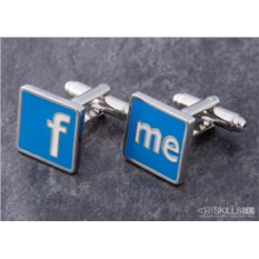 Запонки Facebook