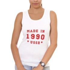 Женская майка Made in USSR