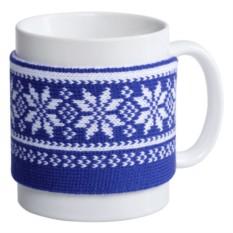 Манжета на кружку «Скандик» (цвет — синий)