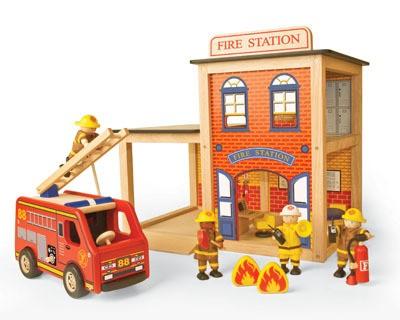 Набор Пожарные, 3 предмета