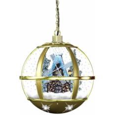 Новогоднее украшение Снежный шар