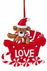 Новогодний сувенир Любимый мишка