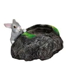 Кашпо Заяц у камня