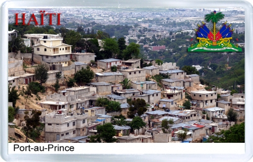 Магнит на холодильник: Гаити. Порт-о-Пренс
