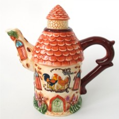 Чайник Петух и курочка