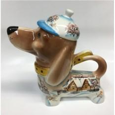 Чайник в форме собаки Зимние забавы