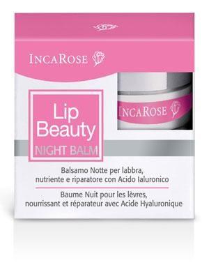 Бальзам для губ ночной восстанавливающий Inca Rose