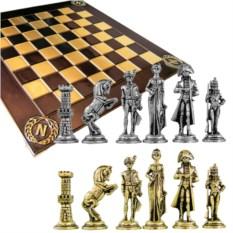 Металлический шахматный набор Наполеон