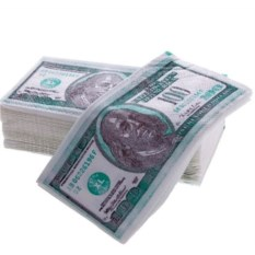 Салфетки Пачка денег