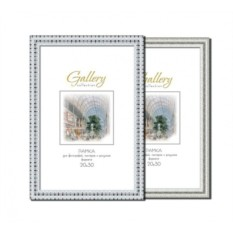 Стандартная серебристая фоторамка Gallery 20х30