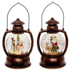 Декоративная фигурка в стеклянном шаре Фонарь
