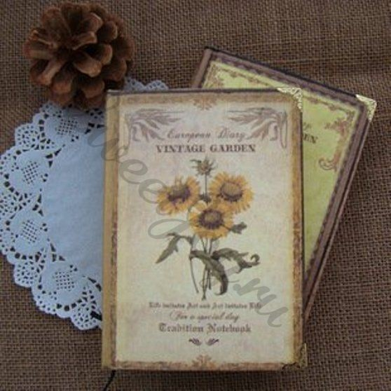 Ежедневник Vintage Garden – Sunflower