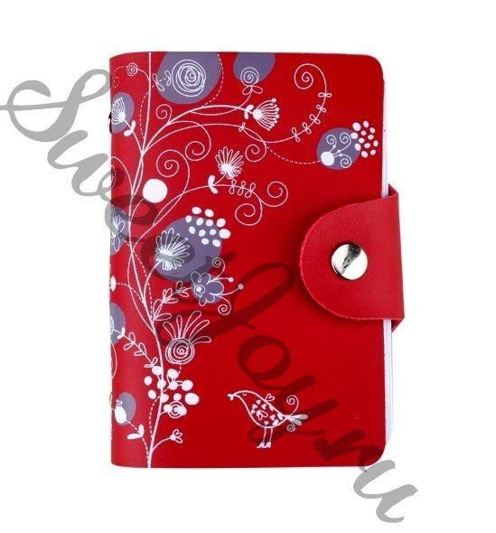 Кардхолдер Bird Clover - Red