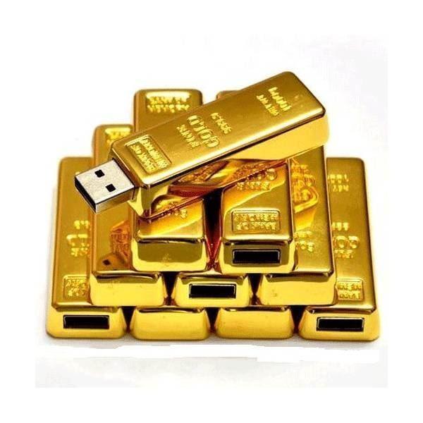 USB флешка Слиток золота на 64ГБ