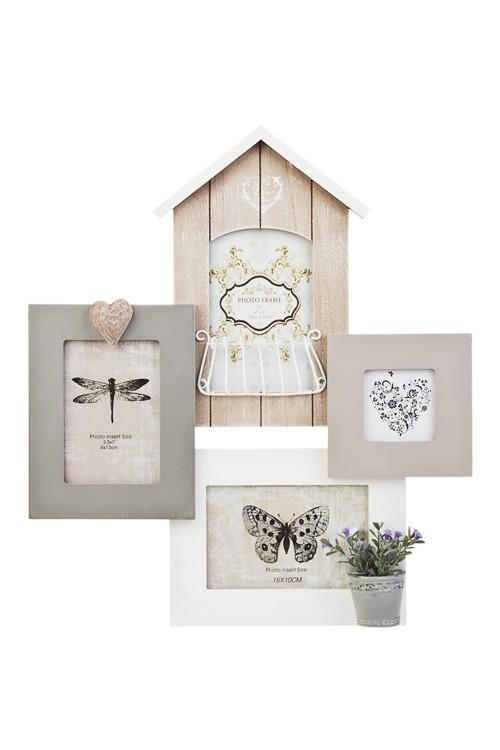 Рамка для 4-х фото Прекрасный дом цветочника