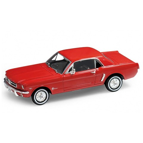 Модель винтажной машины Ford Mustang 1964 от Welly