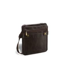 Кожаная сумка через плечо Brialdi Newport (коричневый)