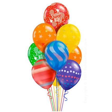Классический букет С днём рождения