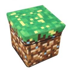 Пуфик Земляной блок из Minecraft