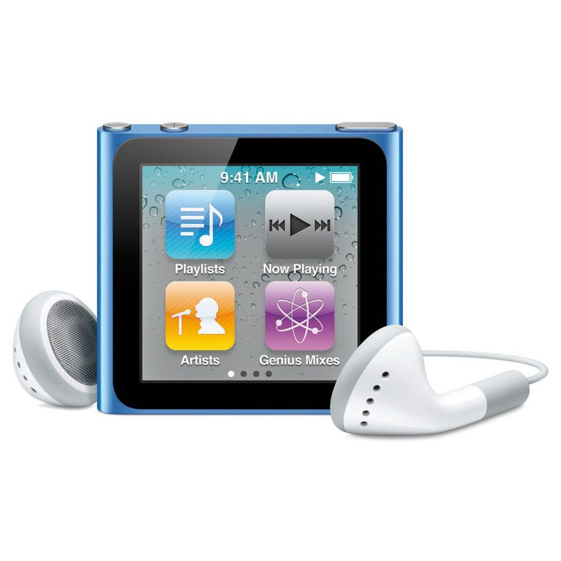 Плеер MP3 Apple iPod nano 6th Generation 8GB blue