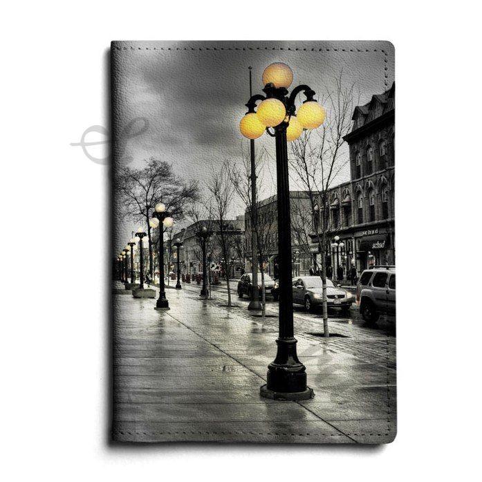 Кожаная обложка для паспорта Streetlight