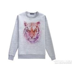 Толстовка Watercolor tiger
