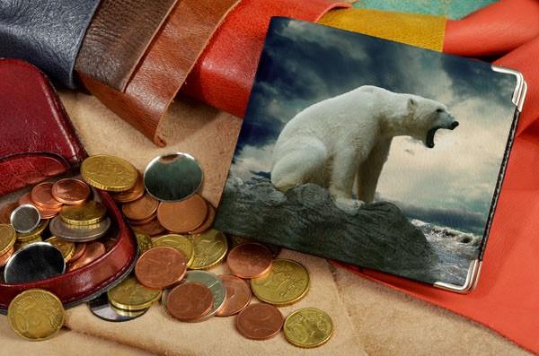 Портмоне  Белый медведь