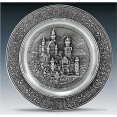 Настенная тарелка Замок Artina