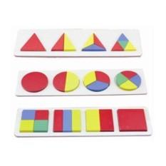 Пазлы Геометрия для малышей
