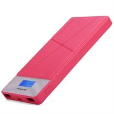 Розовый внешний аккумулятор Pineng PN-983S 10000mAh