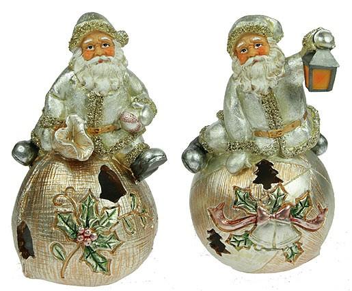 Ночник Дед Мороз на мешке с подарками